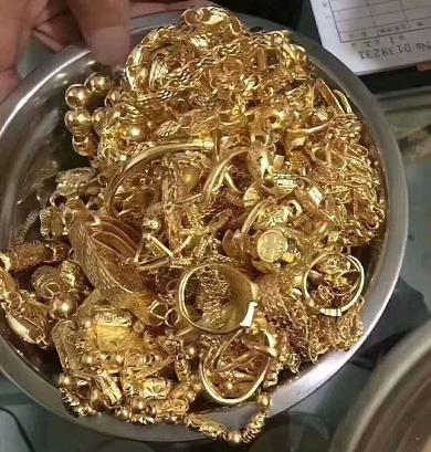 平湖市黄金回收电话
